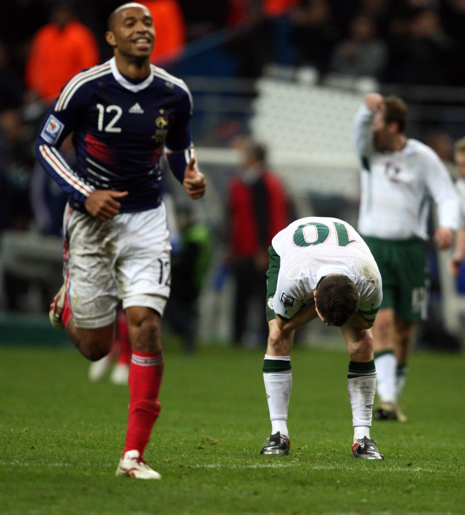 The Thierry Henry handball is both France s shame and its security