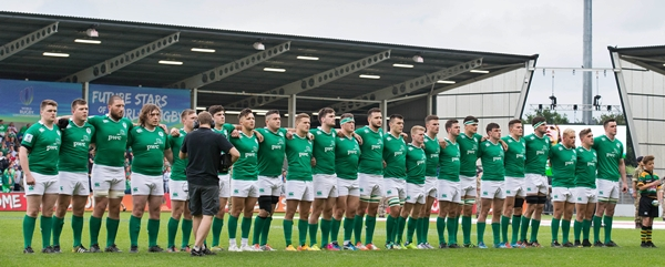 Ireland stand for the national anthem 25/6/2016
