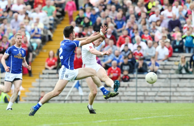 Peter Harte scores Tyrone's first goal 3/7/2016