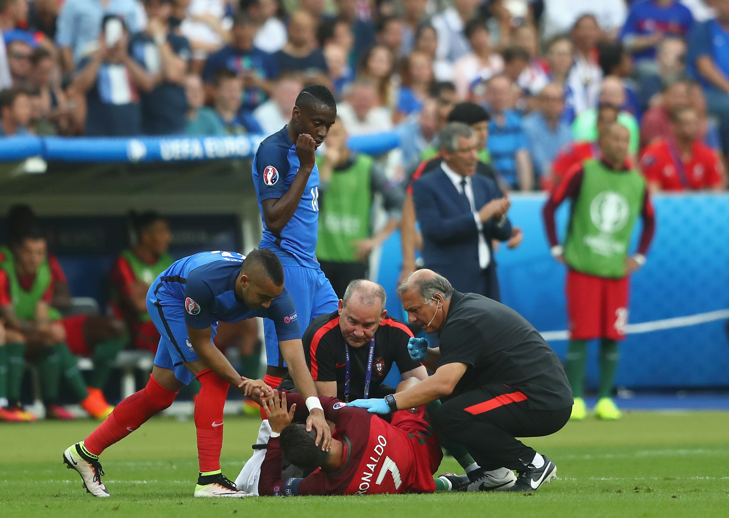 Dimitri Payet offers his take on the challenge that injured