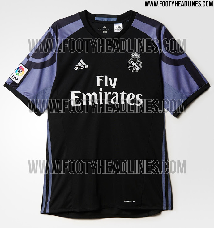 official photos 43d74 a8b7d PICS: The sleeves on Real Madrid's new third kit are out of ...