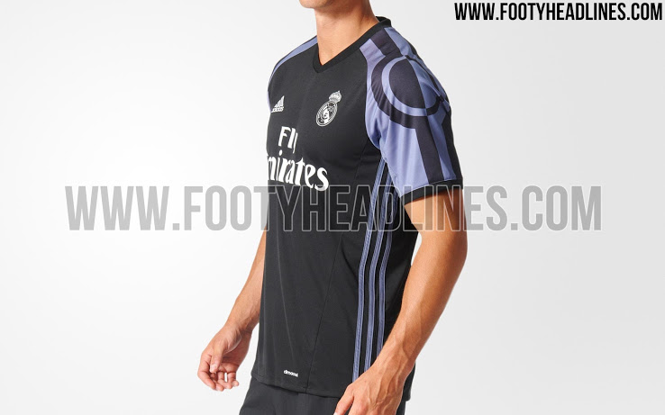 official photos f8a02 f5a36 PICS: The sleeves on Real Madrid's new third kit are out of ...