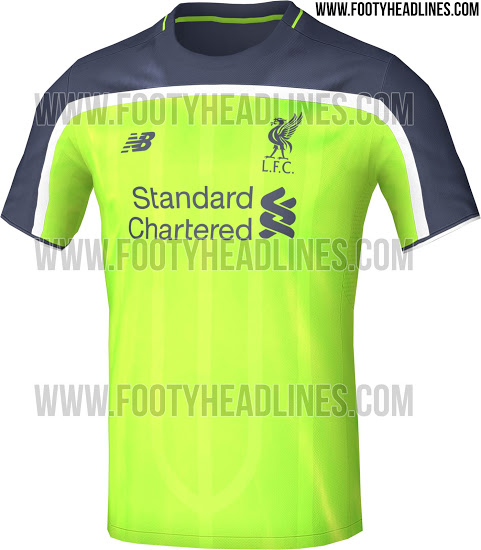 lowest price 46f38 31aeb Liverpool's new third kit has been leaked online and it ...