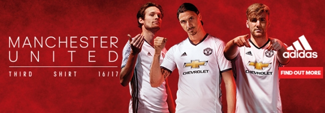 premium selection 6b139 6d4b2 The new Manchester United third kit is absolutely pristine ...