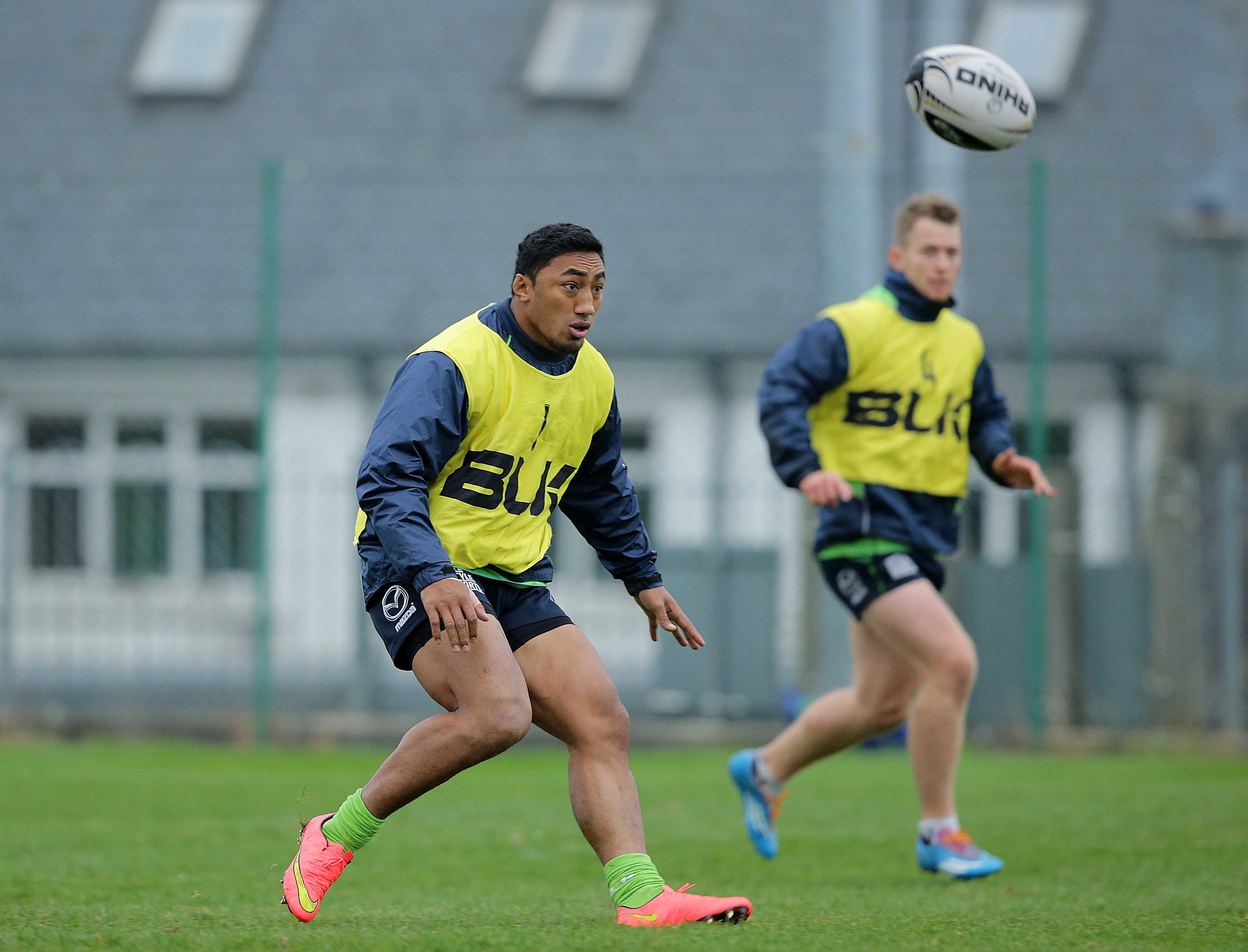 Connacht Rugby Training, The Sportsground, Galway 29/10/2014 Bundee Aki Mandatory Credit ©INPHO/Morgan Treacy