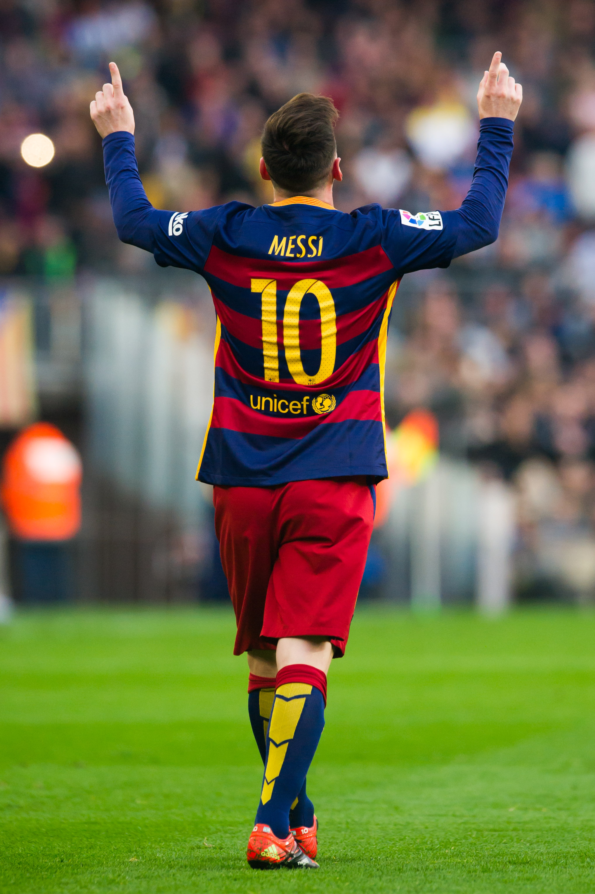Lionel Messi's goal celebration: The touching reason behind