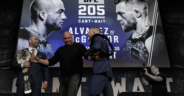 UFC 205 Press Conference
