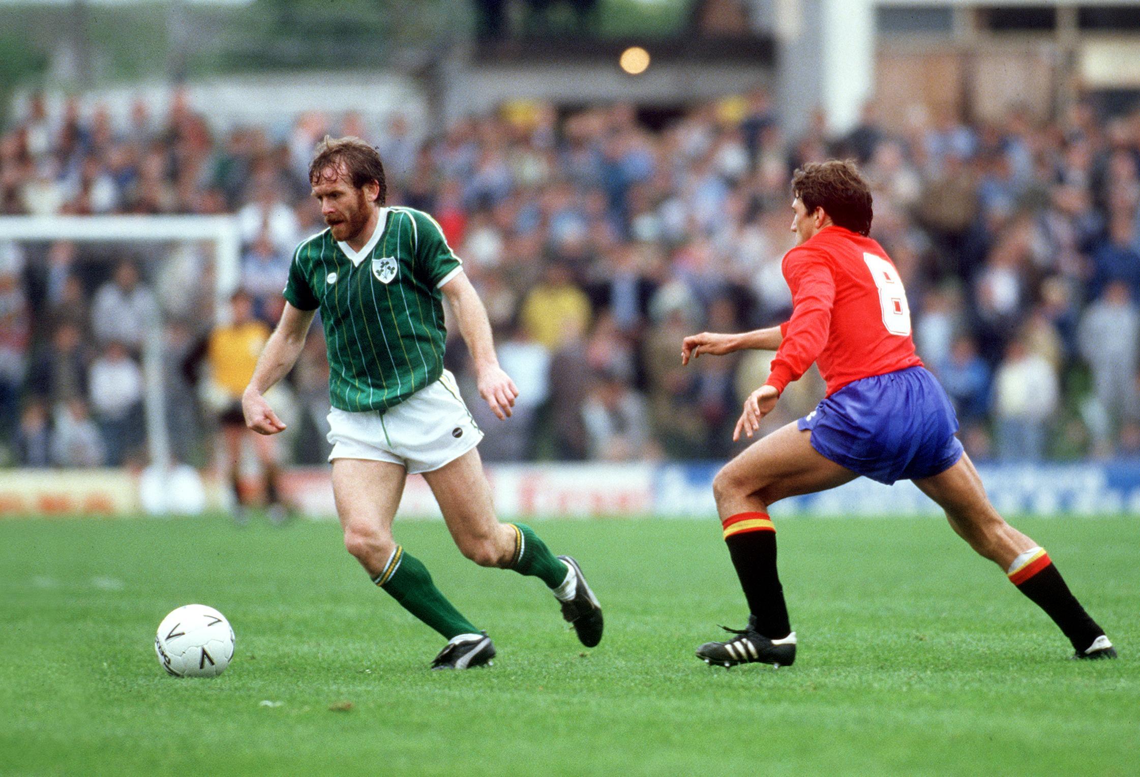 Republic of Ireland vs Spain Tony Grealish of Ireland Mandatory Credit ©INPHO