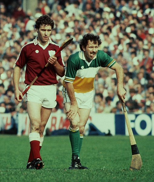 Offaly 1981 Johnny Flaherty © INPHO / Billy Stickland