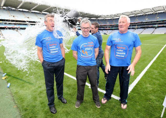 Kieran McGeeney with Joe Brolly and Pat Spillane 31/8/2014