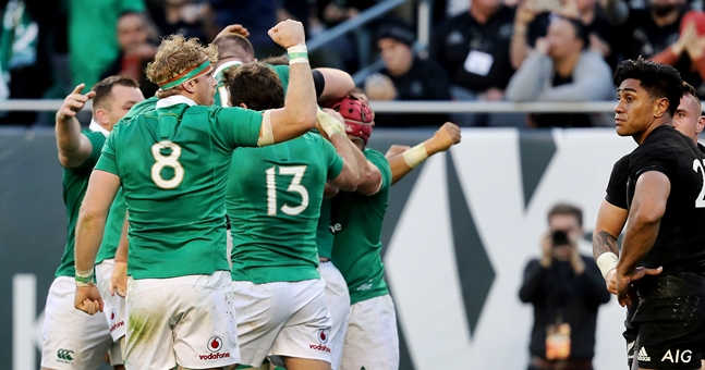 Ireland ladies continue 100% record in Six Nations