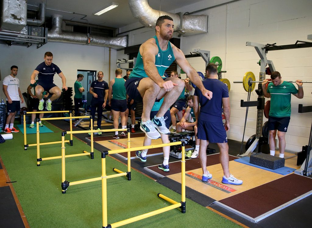 Ireland Rugby Squad Training, Celtic Manor Resort, Newport, Wales 6/10/2015 Rob Kearney Mandatory Credit ©INPHO/Dan Sheridan