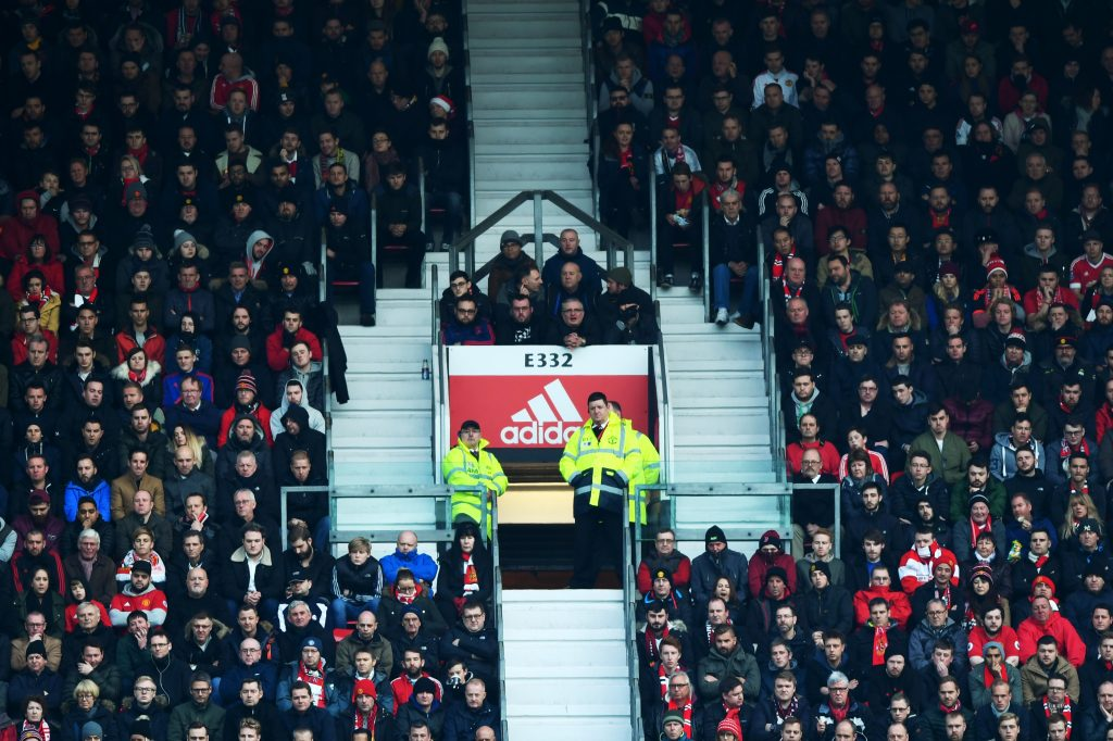 Old Trafford sleepover: United fans hid in bathroom