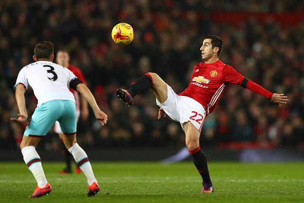 Manchester United v West Ham United- EFL Cup Quarter-Final