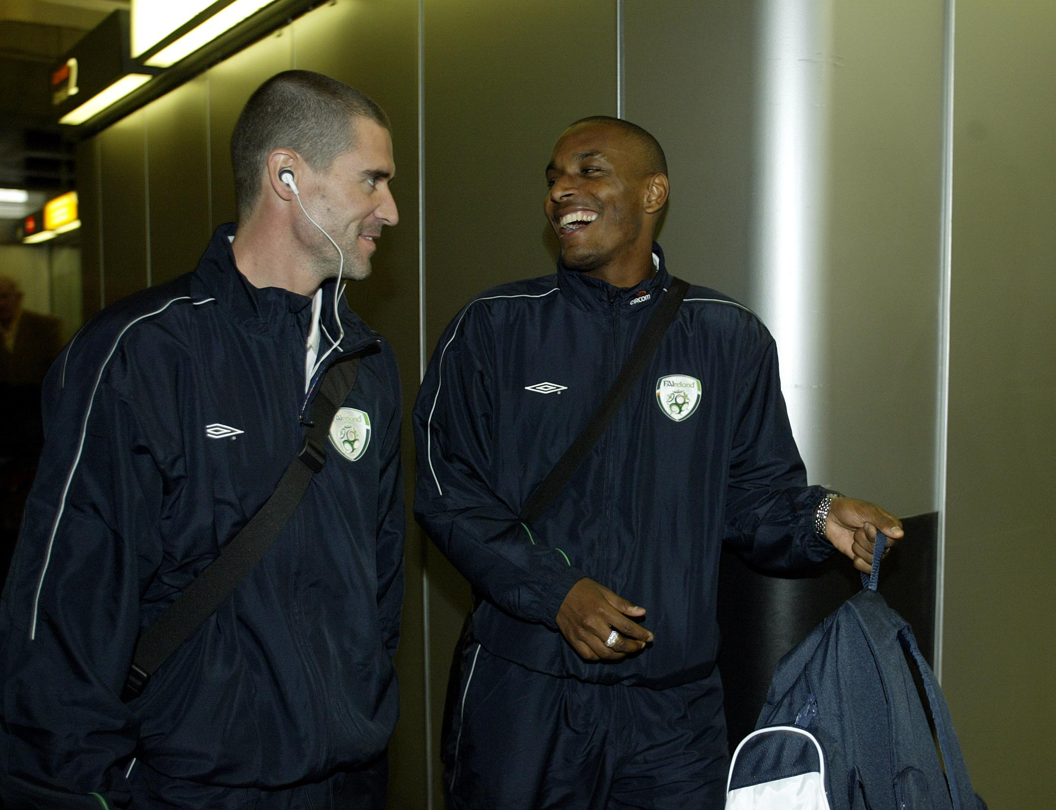 Clinton Morrison will never for the time he told Roy Keane he
