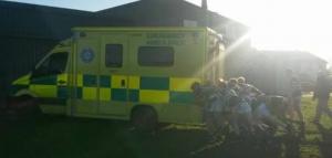 rugby ambulance