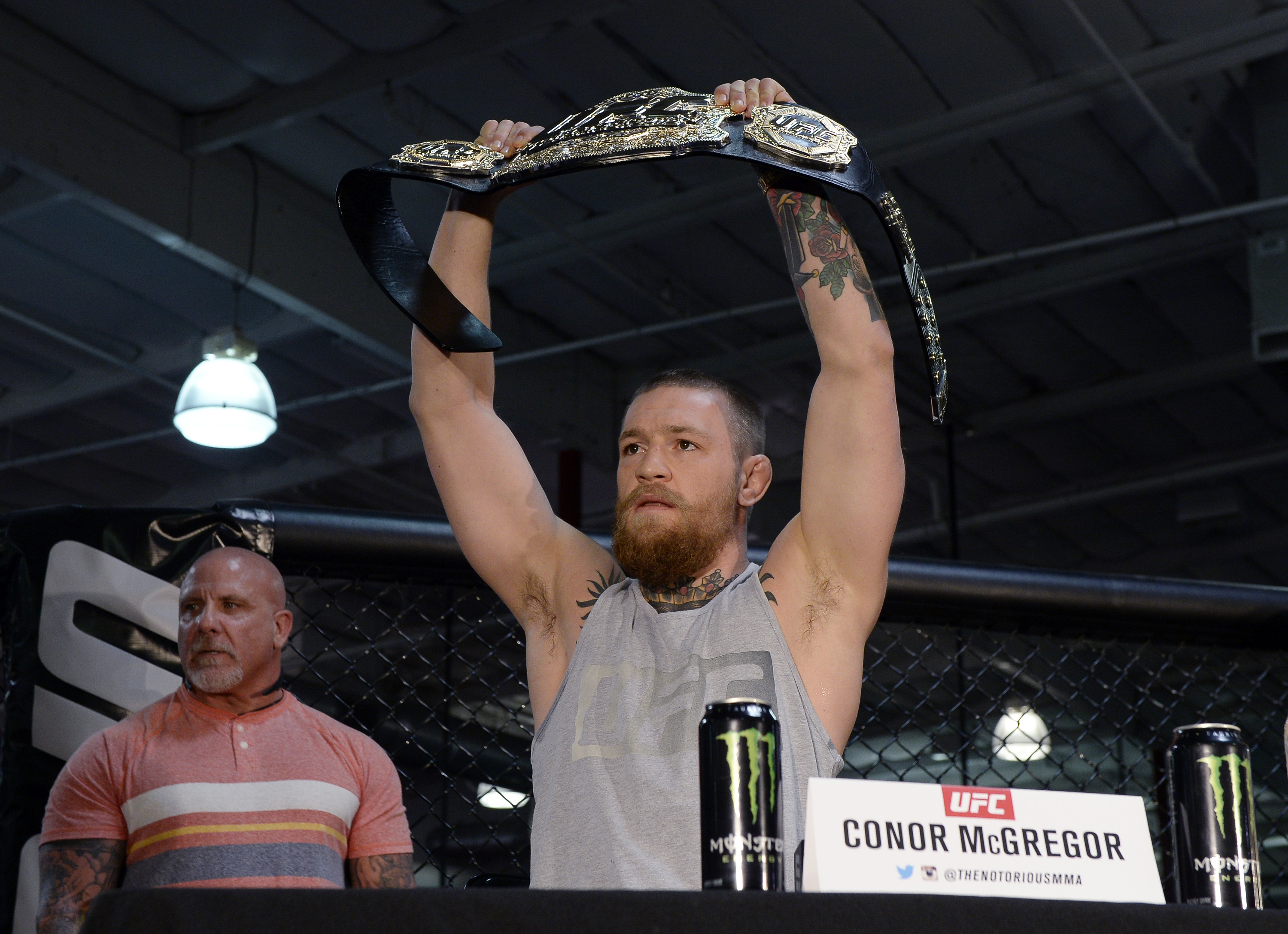 Conor Mc Gregor vs Nate Diaz title