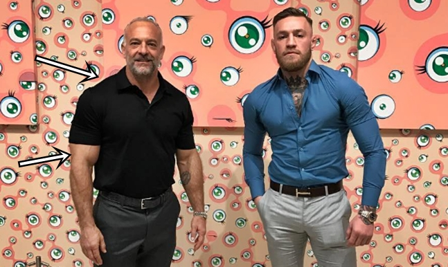 Conor McGregor Throws Down Big Threat For Floyd Mayweather's 'Little Head'