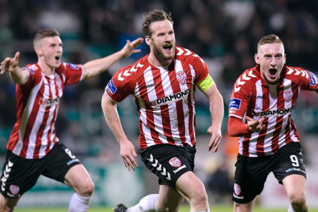Derry City captain Ryan McBride dies suddenly