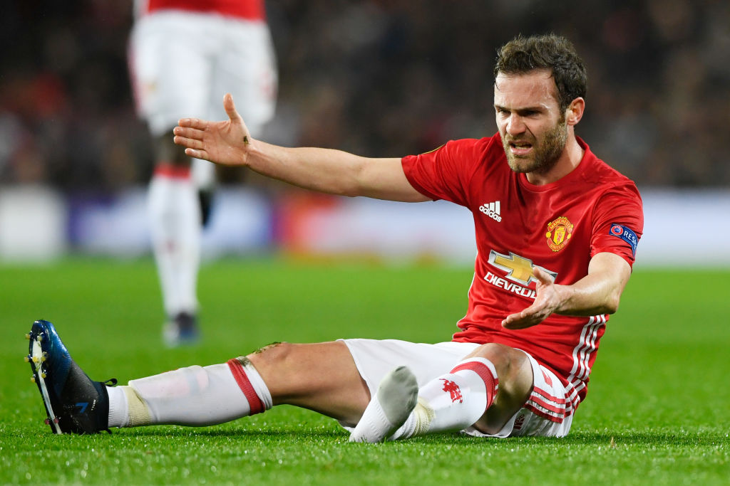 Juan Mata's Season Could Be Over After Manchester United