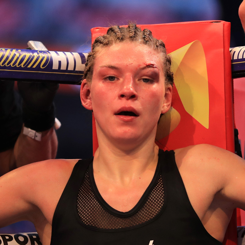 Katie Taylor's Opponent's Eye Was In A Pretty Bad State