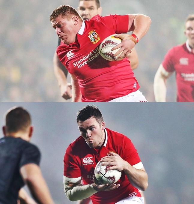 Farrell wins fitness battle for Lions Test against New Zealand