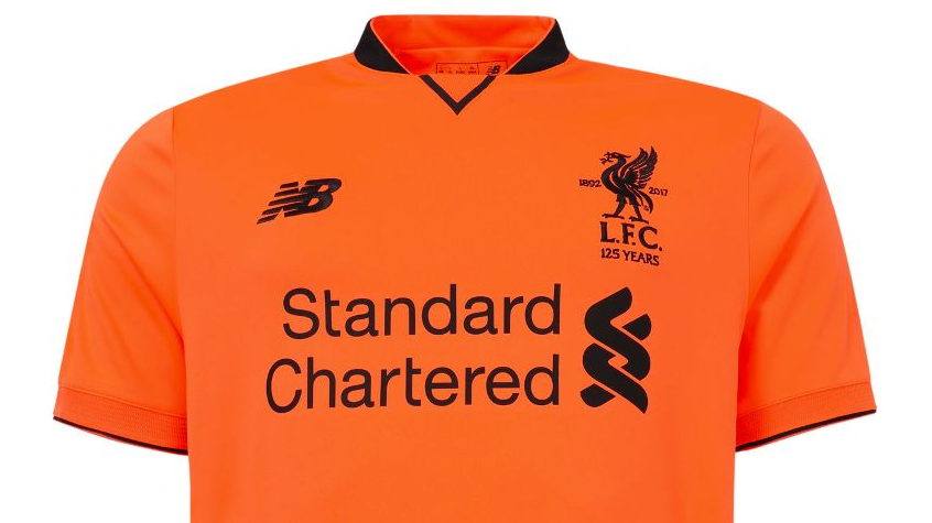 Liverpool third kit