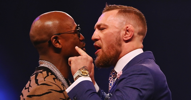 Undercard announced for Mayweather vs McGregor fight