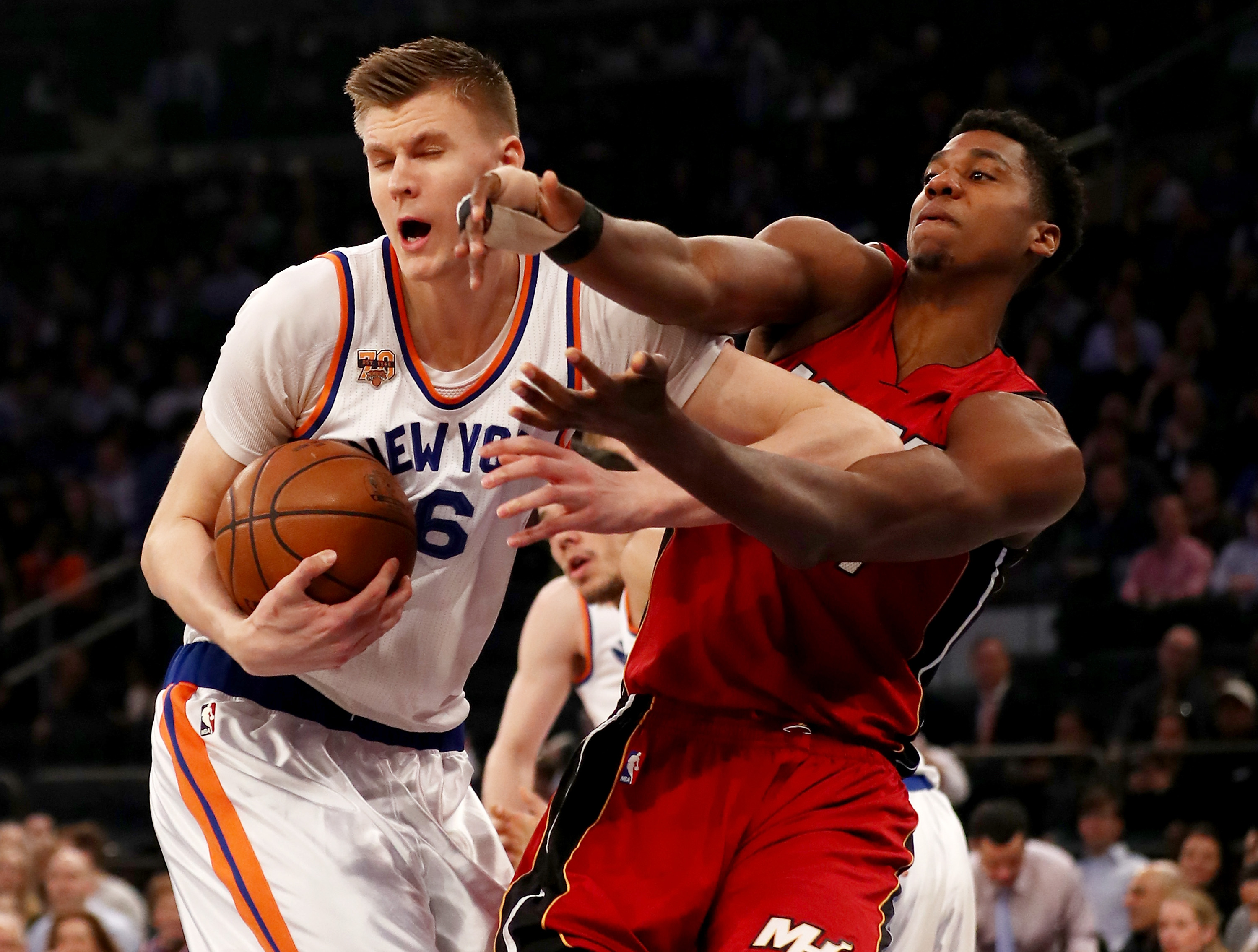 Porzingis: I hope to spend my whole career with Knicks