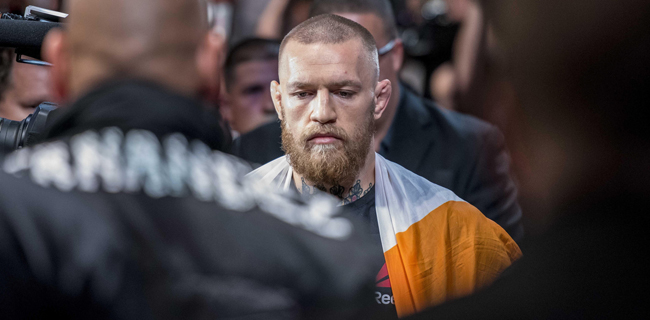Conor McGregor vs Nate Diaz title