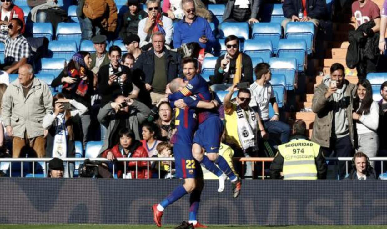 El Classico: Real Madrid 0-3 Barcelona