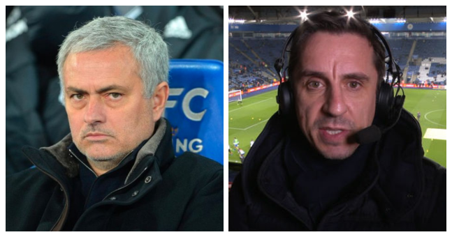 Gary Neville podcast featuring Manchester United v Leicester