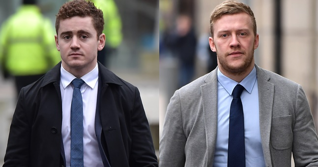 Sale Sharks deny deals to sign Paddy Jackson and Stuart Olding