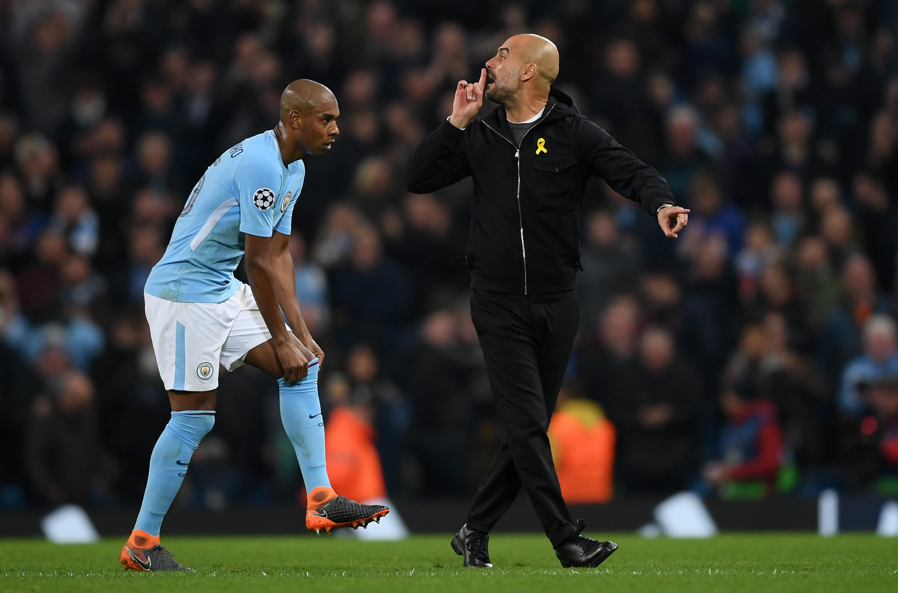 UEFA charges Manchester City boss Pep Guardiola with improper conduct