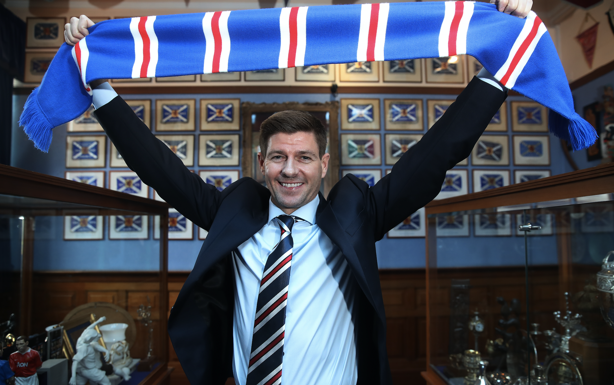 Steven Gerrard Agrees Deal To Become Rangers Manager