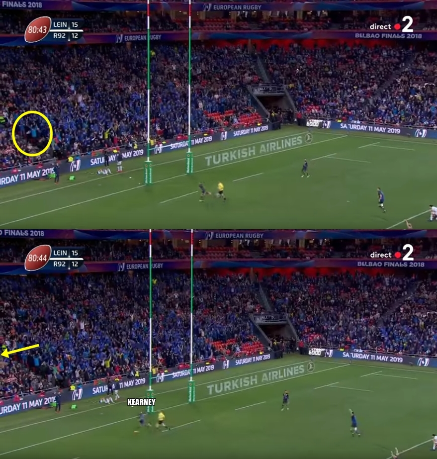 Leinster Rugby Season 2014 15 So Far: Racing's Drop Goal Went Much Further Wide Than We First
