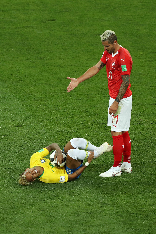 Brasilien Vs Schweiz