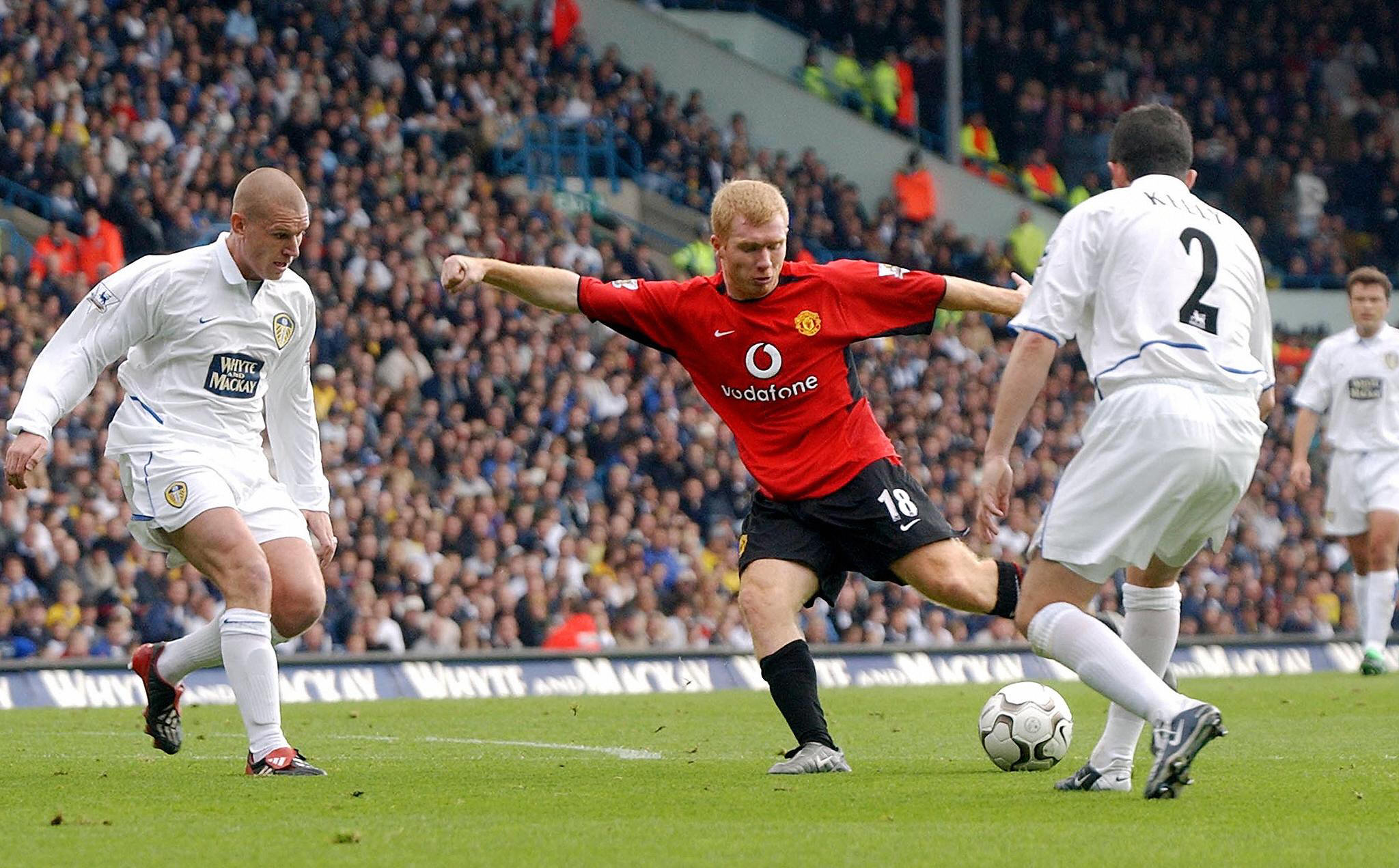 Paul Scholes reveals the most hostile game he ever played in