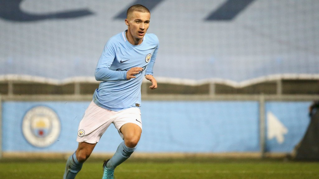 Ireland underage worldwide  called up to Manchester City squad