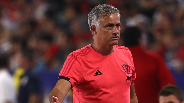 Mourinho claims he IS happy with his players despite transfer woes