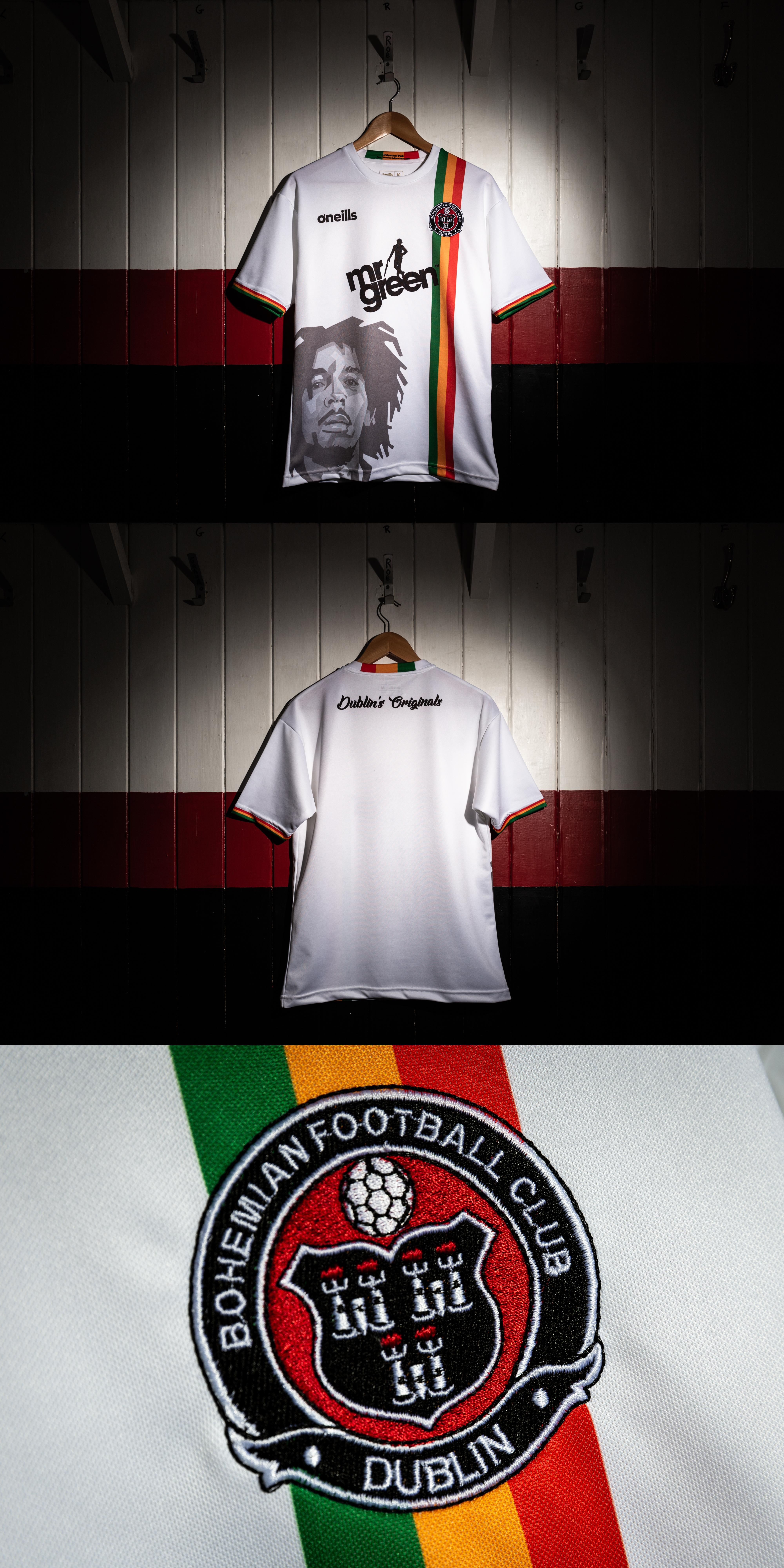 e5808ec9674 Bohemians launch class new away jersey made by O Neills