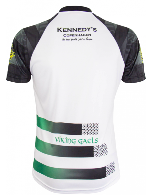 ea89c92ed92 The Viking Gaels are going to be worn all over the world. Goalkeeper jersey