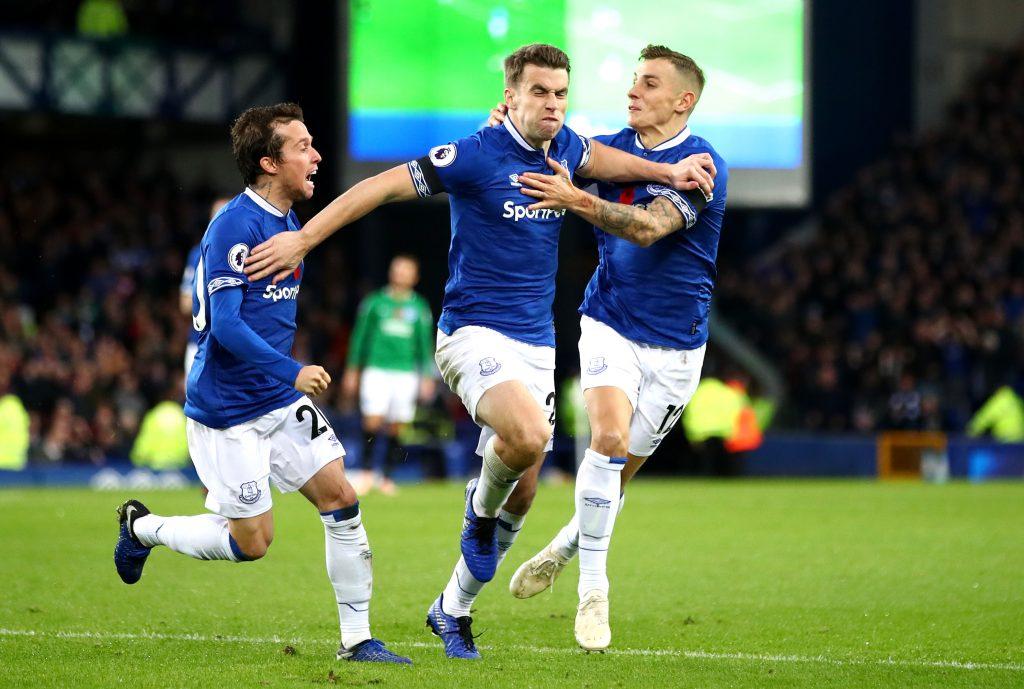 Everton S Seamus Coleman Explains Wild Celebration After Goal Against Brighton Joe Co Uk