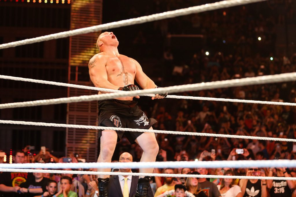 Brock Lesnar agrees new WWE deal which entitles him to UFC ...