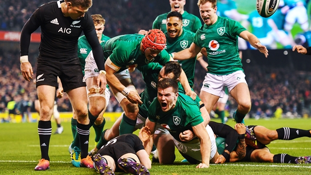 Ireland beat New Zealand