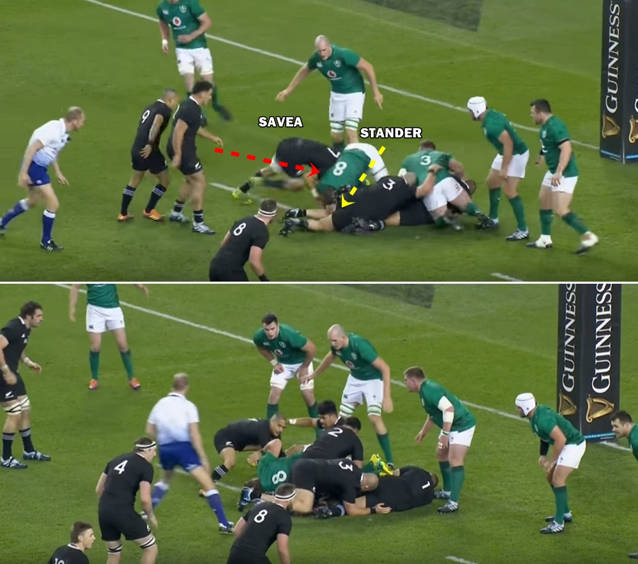 Sam Whitelock Breaks A Tackle: CJ Stander Delivered The Crucial Moment That Told New