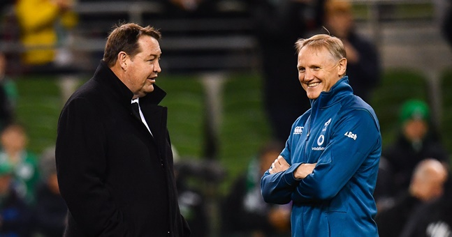 Joe Schmidt: Ireland head coach turned down All Blacks role