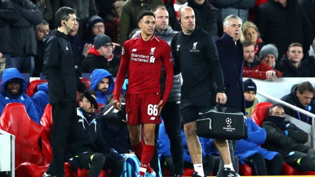 Trent Alexander-Arnold out of Man United clash