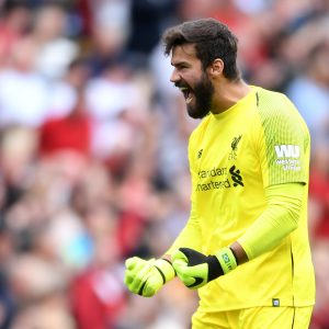 Alisson Becker to Liverpool