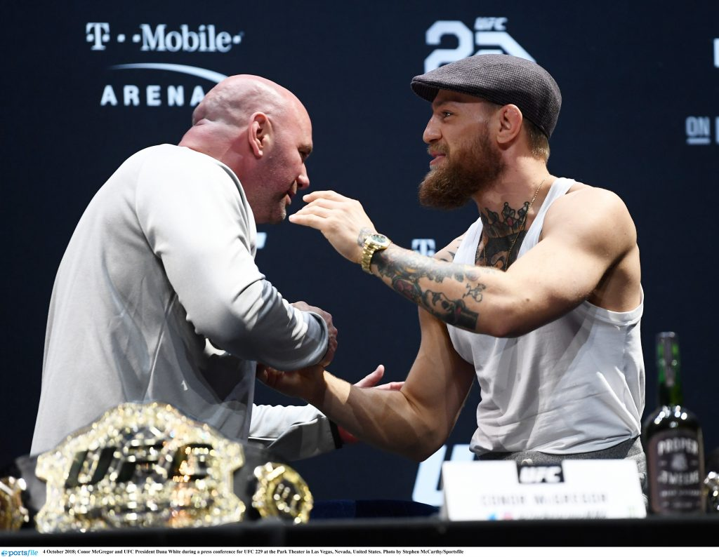 UFC President Dana White expects McGregor - Khabib rematch